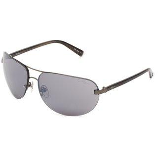 True Religion Reese Dark Grey and Soft Gun Sunglasses