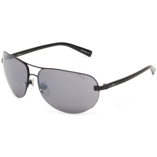 True Religion Reese Black and Shiny Black Sunglasses