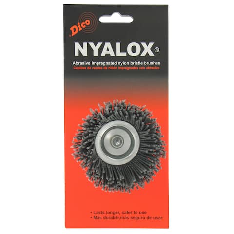 Dico 7200010 2.5-inch Coarse Nyalox Cup Wire Brush