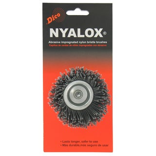 Dico 7200005 2.5-inch Extra-Coarse Nyalox Cup Wire Brush