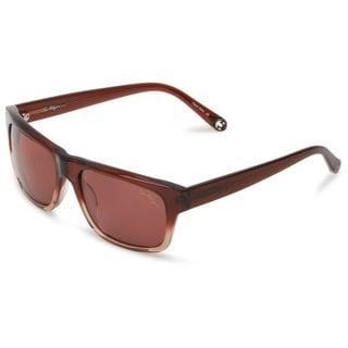 True Religion Jamie Rectangular Brown and Light Brown Sunglasses