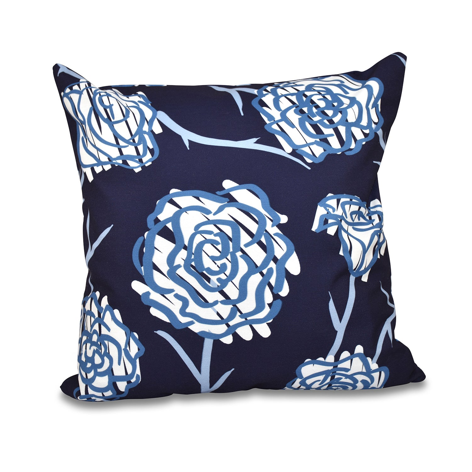Spring Floral 2 Floral Print 20 Inch Throw Pillow On Sale Overstock 11529955