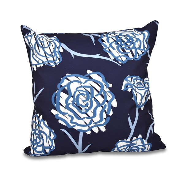 Spring Floral 2 Floral Print 20-inch Throw Pillow