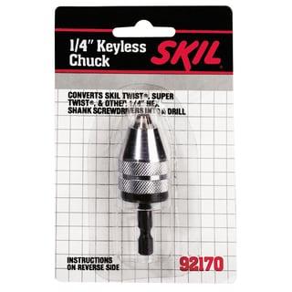 Skil 92170 0.25-inch Keyless Chuck