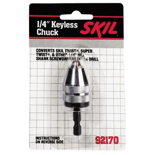 Skil 92170 0.25-inch Keyless Chuck|https://ak1.ostkcdn.com/images/products/11529974/P18477726.jpg?impolicy=medium