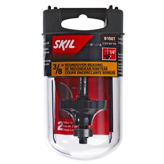 Skil 91507 .375-inch Roundover Carbide Router Bit