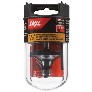 "Skil 91500 1/2"" Roundover Carbide Router Bit"