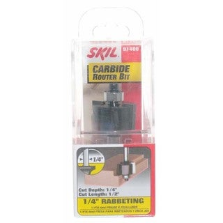Skil 91400 0.25-inch Rabbeting Carbide Router Bit