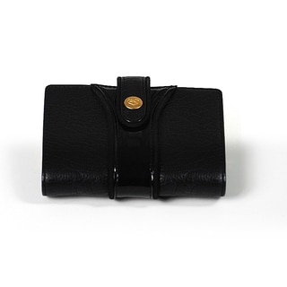 Charriol Black Patent Leather Wallet