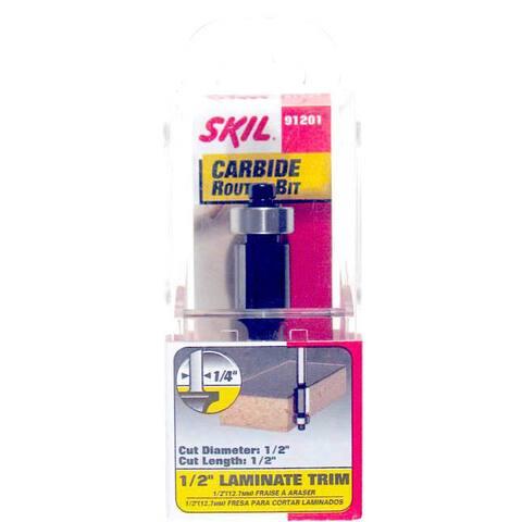 Skil 91201 0.5-inch Laminate Trim Carbide Router Bit