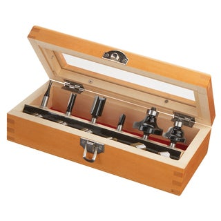 Skil 91006 6-piece Router Bit Set and Accessories