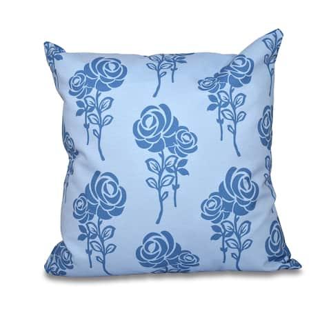 Carmen Floral Print 20-inch Throw Pillow