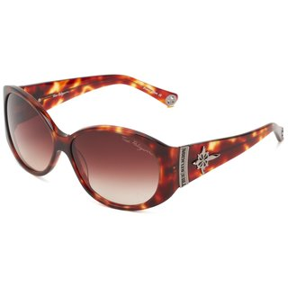 True Religion Madison Amber Tortoise Sunglasses - Brown - M