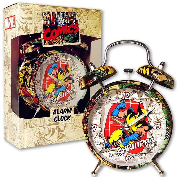 Marvel Comic Wolverine 4-inch Alarm Clock