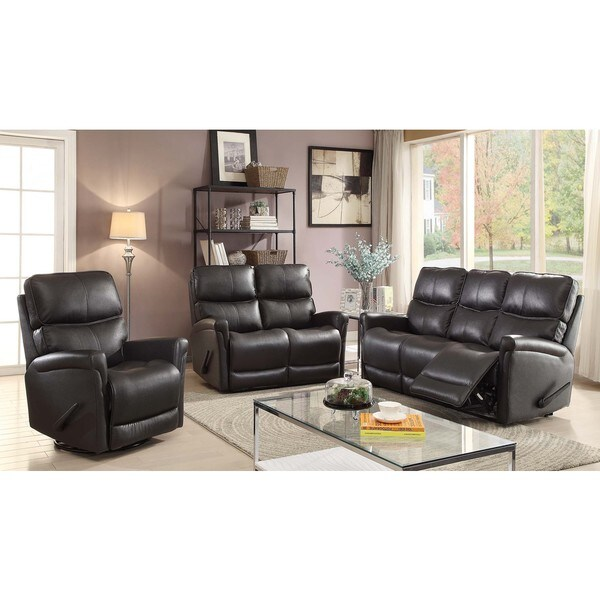 shop easy living cologne 3 piece reclining living room set free shipping today