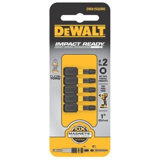 Dewalt DWA1SQ2IR5 #2 Square Impact Insert Bit 5-count