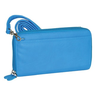 Buxton Ultimate Double Zip Fashion Color Wallet