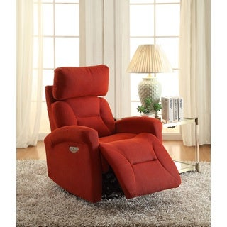 Easy Living Holland Swivel Power Recliner with USB