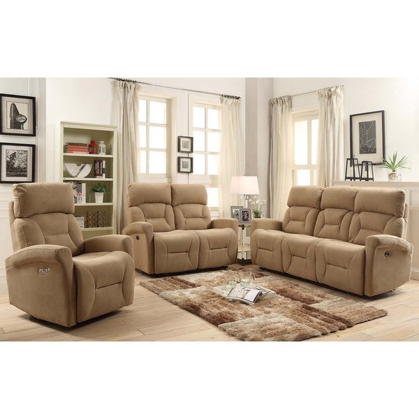 Easy living holland 3 piece power reclining living room for 6 piece living room set