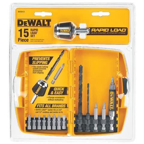 Dewalt DW2513 15-piece Rapid Load Power Bit Set
