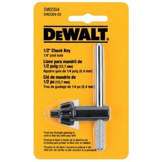 Dewalt DW2304 0.5-inch, 0.25 Pilot Chuck Key