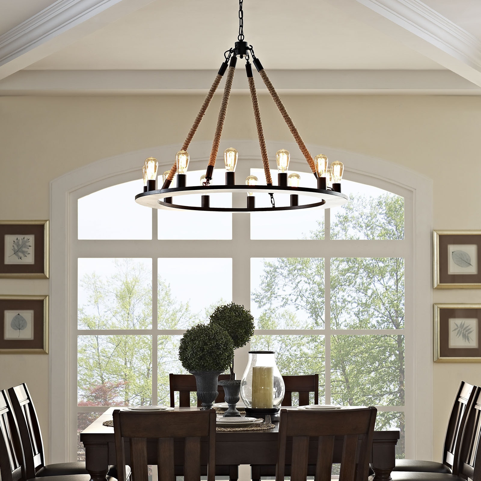 Rustic Ceiling Lights For Less   Overstock.com