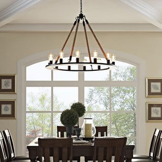 Round Rustic Chandeliers rustic chandeliers & pendant lighting - shop the best deals for