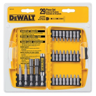 Dewalt DW2162 29-piece Screwdriving Set With Tough Case