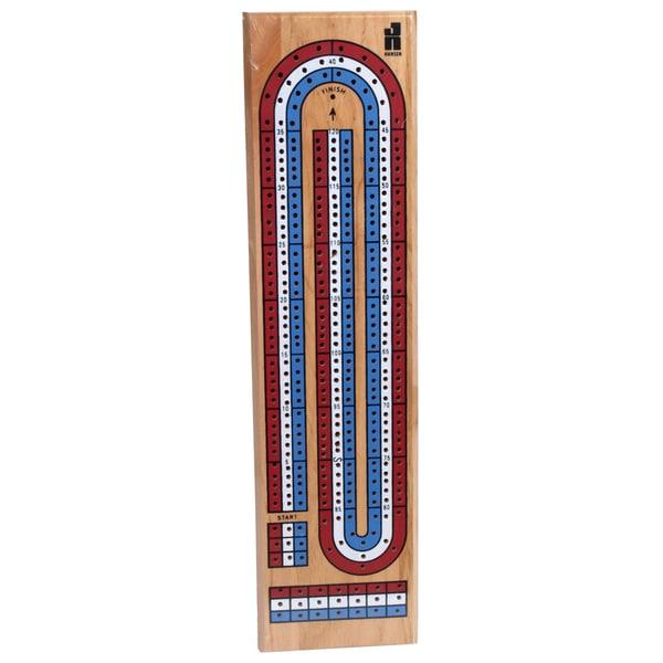 Hansen TR-99 3 Track Color Cribbage Board