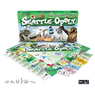 Late for the Sky SEAT Seattle-Opoly Game