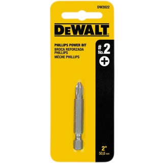 Dewalt DW2022 2-inch #2 Phillips Power Bit