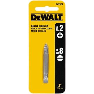 Dewalt DW2024 #2 Phillips - #8 Slotted Double-End Power Bit