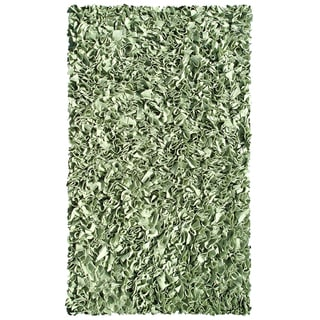 Hand-woven Lolli Trees Cotton Rug (2'8 x 4'8)