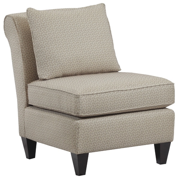 Hayden Armless Upholstered Accent Chair Free Shipping