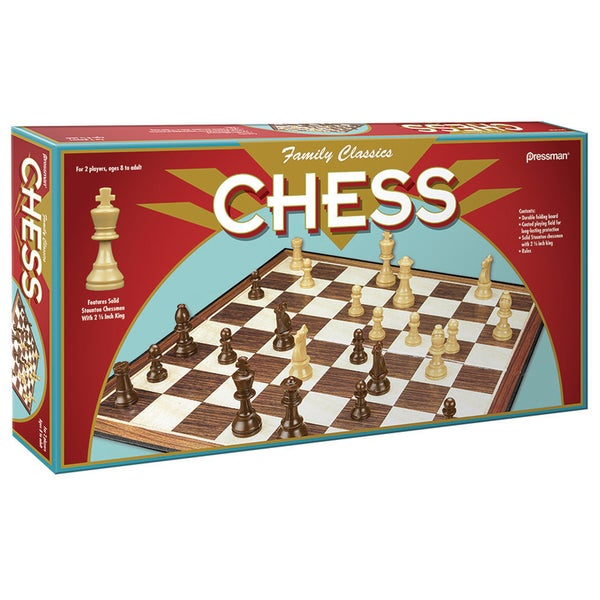 Pressman 3224-06 Chess Board Game