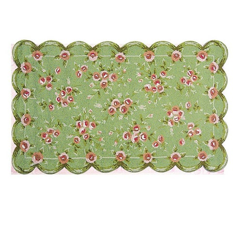 Hand-hooked Emily Cotton Rug - 2'8 x 4'4