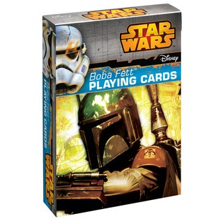CartaMundi 1819 Star Wars Boba Fett Playing Cards