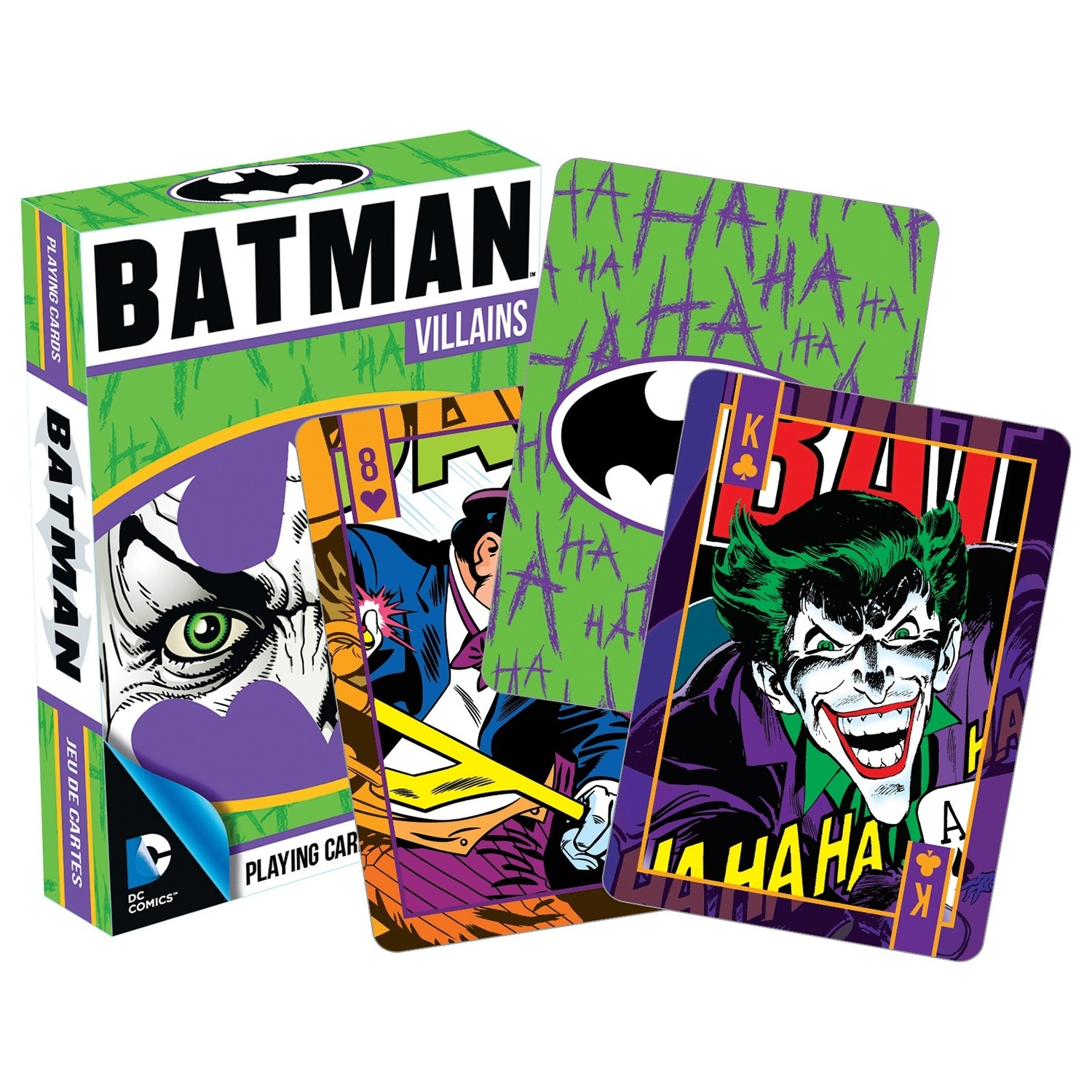 Nmr Distribution Batman 52265 Batman Villian Playing Card...