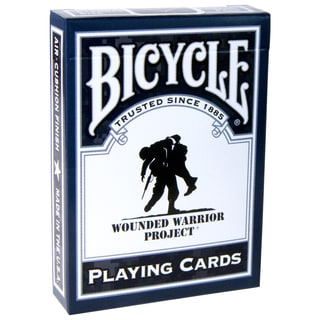 Bicycle 1025243 Wounded Warrior Playing Cards