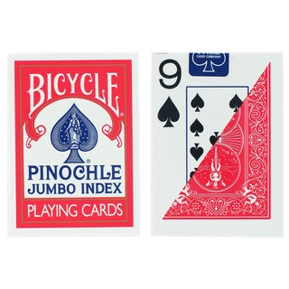 Bicycle 1001023 Bicycle Jumbo Pinochle Playing Cards