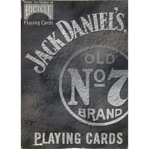 Bicycle 1001646 Jack Daniel's Old No 7 Brand Playing Cards