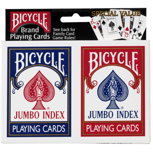 Bicycle 1001781 Double Pack Poker Cards - multi