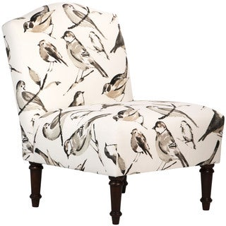 Skyline Furniture Birdwatcher Charcoal Camel Back Chair