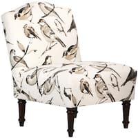 Skyline Furniture Birdwatcher Charcoal Camel Back Chair