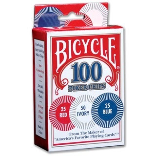 Bicycle 1006252 Bicycle Poker Chips 100-count