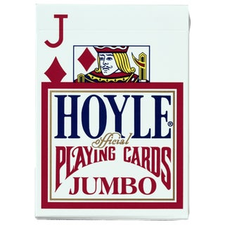 Hoyle 1003440 Official Jumbo Index Playing Cards