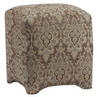 Emma Upholstered Cube Ottoman
