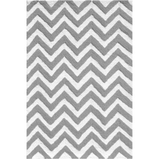 Hand-hooked Candy Store Polyester Rug (2'8 x 4'8)