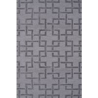 Hand-hooked Shimmer Grey Rug - 2'8 x 4'4