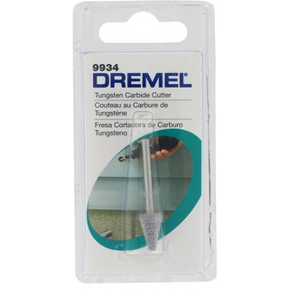Dremel 9934 Structured Tooth Tungsten Carbide Cone Shaped Cutter